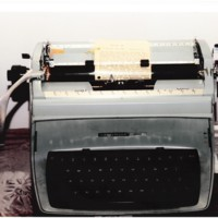 Typewriter of MMBC Pastor Wendell P Russell-Sr.jpeg