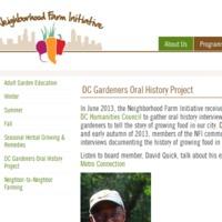 DC Gardeners Oral History Project - Mattie Croskey