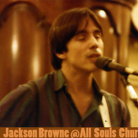 Jackson Browne Performs at All Souls Church