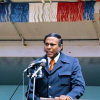 Rev. Eaton Speaks at Columbia Heights Village Groundbreaking